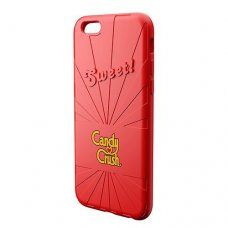 Candy Crush iPhone 6-6S Çilek Silikon Kılıf (Lisanslı)