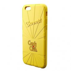 Candy Crush iPhone 6-6S Limon Silikon Kılıf (Lisanslı)