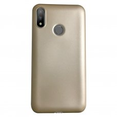 Casper A3 Plus Premium Simple Silikon Arka Kapak Gold
