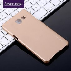 Samsung Galaxy A7 2016 Seven-Days  Arka Kapak Gold