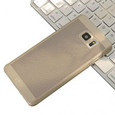 Samsung Galaxy Note FE (Fan Edition) Loopee Point Sert Arka Kapak Gold