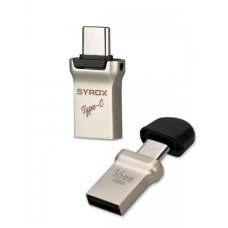 Syrox 16GB Type-C Usb + Usb Otg Flash Bellek UTC16