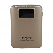 Tiger Powerbank Ekranlı Metal Kasa RW-S19D 9000 mAh Gold